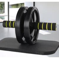 舒适手把防滑耐磨吸汗双轮腹肌轮健身器材 精致耐用家用巨轮静音男