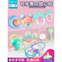婴儿手摇铃玩具新生幼儿3-6-12个月男宝宝女孩5早教益智牙胶0-1岁