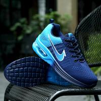 男鞋秋季运动鞋男士休闲鞋透气网鞋气垫跑步鞋鞋网面旅游鞋子