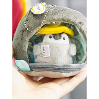 可爱能量正小企鹅毛绒痛包沙发diy玩偶包包挂饰书包挂件公仔玩具