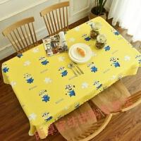 糖果色圆桌布大圆桌装饰简约方型餐桌糖果卡通桌布宝蓝色