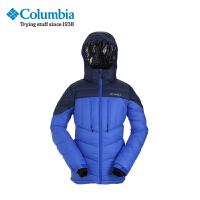 Columbia哥伦比亚户外男款加厚连帽羽绒服PM5020