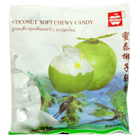 [当当自营] 泰国进口 蜜泰(MITMAI)椰子软糖 110g