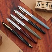 英雄(HERO)钢笔 100半钢14K金笔 墨水笔 商务礼品
