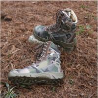云博户外军靴男靴系带登山鞋作战靴战斗靴战术靴