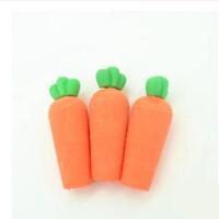 萝卜/兔子/小猫/彩色/卡通橡皮擦 学生奖品 颜色随机 多款可选
