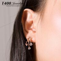 T400耳环韩国气质防过敏耳钉女个性简约 2994
