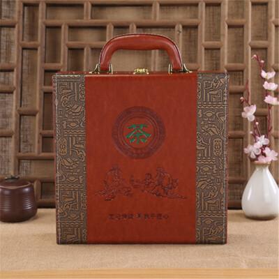 普洱茶包装盒福鼎白茶礼盒安吉白茶安化黑茶茶饼357克通用盒