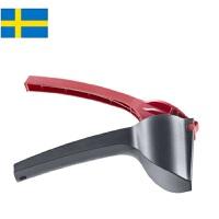 【当当海外购】瑞典进口Orthex 高耐树脂防止迸溅坚果核桃夹子-红色