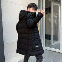 男士羽绒服中长款保暖新款冬装韩版冬季加厚青年男款帅气男外套潮DJDS273