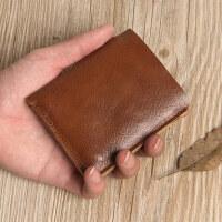 钱包男 短款学生小钱包男迷你轻薄短款男士钱包小巧竖款