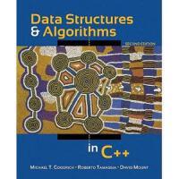 【预订】Data Structures and Algorithms in C++ 9780470383278