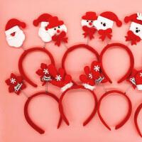 圣诞节头饰头扣帽子儿童成人圣诞派对装饰布置礼物用品圣诞帽子