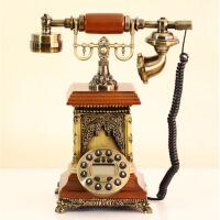 异国风情欧式电话机韩式古董仿古电话 典电话机仿古老式欧式田园复古电话固话家用座机