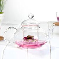 玻璃茶具带过滤玻璃泡花茶壶花草茶壶