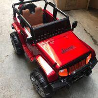 儿童电动车宝宝可坐双人超大号四轮四驱电动汽车带遥控越野车