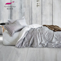 [当当自营]维众家纺 学生三件套床单被套单人经典条纹