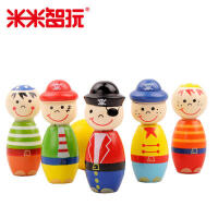 【米米智玩】儿童运动玩具保龄球玩具儿童保龄球卡通人物卡通形象玩具球类益智 实木制造