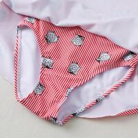 儿童泳衣女孩公主裙式韩国分体中大童时尚可爱套装3-4岁6-12岁游泳衣
