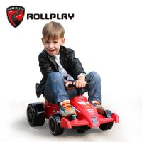 rollplay儿童电动车四轮小孩卡丁车可坐人玩具车方程式f1宝宝赛车