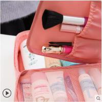 旅行化妆包便携大容量收纳包出差防水手提淑女化妆品袋洗漱包