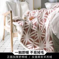 毛毯被子加厚保暖珊瑚绒小毯子冬季法兰绒床单沙发午睡盖毯