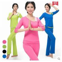 新款 女 瑜伽服套�b �r尚修身健身舞蹈跳操瑜珈服