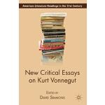 【预订】New Critical Essays on Kurt Vonnegut