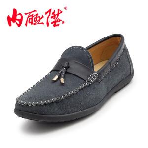 内联升 男鞋  皮鞋 春秋时尚 日常商务 英伦 休闲 老北京布鞋  JA15370-3/4620C