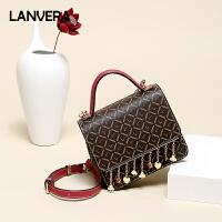 【限时1件2.8折,到手价:155.4】anvera朗薇小包包新款休闲时尚手提包韩版链条单肩包斜挎包女包小方包包