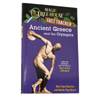 神奇树屋 英文原版童书 Ancient Greece and the Olympics: A Nonfiction C