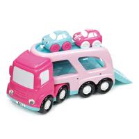 【当当自营】宝乐童益智玩具大运输车2-6岁儿童玩具车套装1880B粉色