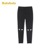 巴拉巴拉女童打底裤2020新款春装儿童裤子中大童透气时尚弹力百搭