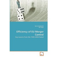 【预订】Efficiency of Eu Merger Control