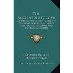【预订】The Ancient History V6: Of the Egyptians, Carthaginians