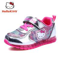 HelloKitty童鞋女童运动鞋2017秋冬季新款儿童跑步鞋女童鞋潮