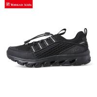 【到手价:299元】探路者童鞋 2020春夏新款户外耐水解PU儿童通款溯溪鞋QFEI85022