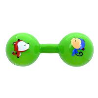 【当当自营】Fisher Price 费雪 新生儿哑铃球宝宝玩具手抓球婴儿球手柄球健身球锻炼手臂F0901绿色