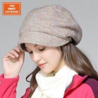 美国第一户外 修脸型针织帽冬季毛线帽休闲堆堆帽时尚秋冬帽