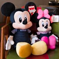 米奇公仔毛绒玩具布娃娃米妮毛绒玩具迪士尼情侣一对儿童礼物女孩
