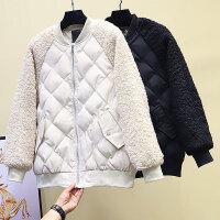 格女装冬装2019年新款宽松棉袄外套短款棉衣