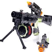 光速战警电动玩具枪男孩儿童枪声光狙击枪机关枪玩具