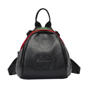 【支持礼品卡】DOODOO女士双肩背包2018新款潮韩版百搭旅行包时尚双肩小包包女包 D6123