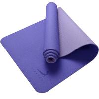 [当当自营]皮尔瑜伽 TPE6mm防滑两面用瑜伽垫紫罗兰 附带背包