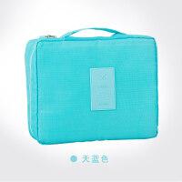 韩版便携洗漱包化妆包大号大容量收纳包简约多功能出差旅行收纳袋
