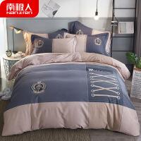 20191111063614431四件套棉纯棉 加厚保暖磨毛 秋冬季床单被套纯棉床上用品