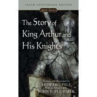 The Story of King Arthur and His Knights 亚瑟王与圆桌骑士 英文原版小说传奇故事