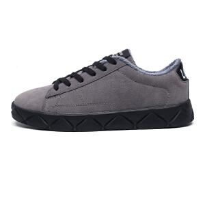 冬季男士棉鞋男款加绒鞋保暖男鞋子防滑青少年加棉学生冬天鞋
