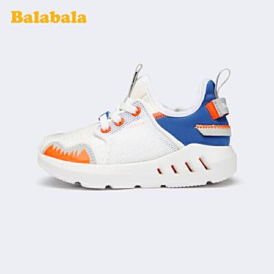 巴拉巴拉官方童鞋男童鞋子女童运动鞋小童一脚蹬跑鞋2020新款春秋