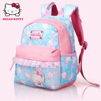 Hello Kitty凯蒂猫 KT1048粉蓝 韩版甜美淑女幼儿园书包儿童书包 当当自营